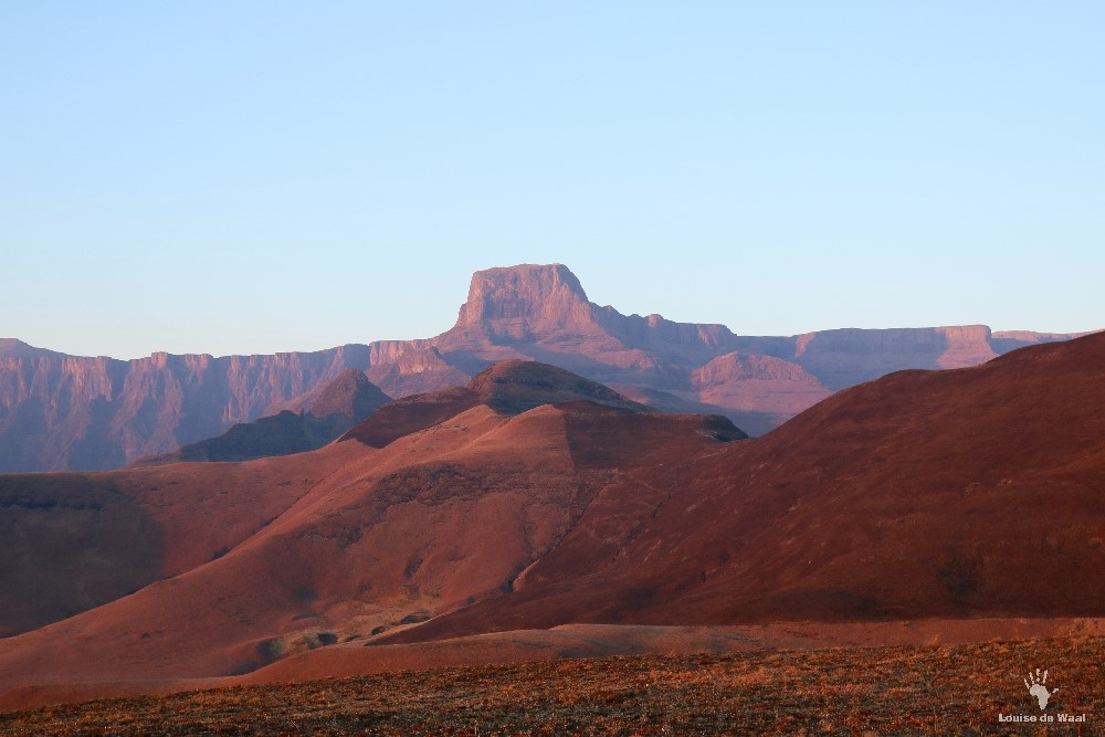 drakensberg sentinel peak