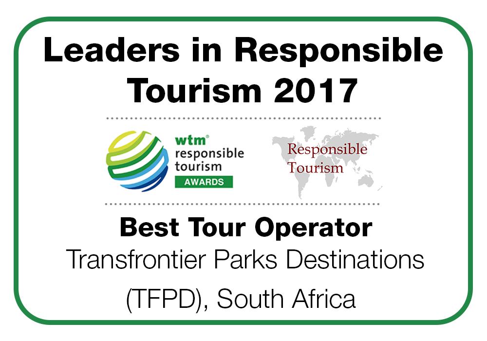 Best Responsible Tour Operator Award